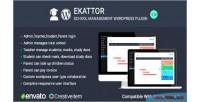 School ekattor plugin wordpress manager