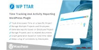 Time tracking & activity plugin wordpress reporting
