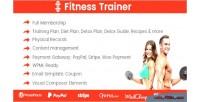 Trainer fitness plugin membership training
