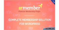 Wordpress armember membership plugin
