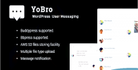 Wordpress yobro multi plugin user messaging private