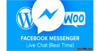 Messenger facebook live time real chat