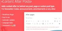 After content plugin wordpress posts