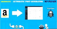 Amazon amazomatic affiliate post money importing generator wordpress for plugin