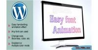 Animation handwriting wordpress plugin