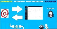 Automatic ezinomatic post generator & auto ezinearticles poster wor for plugin