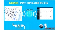 Automatic kronos post wordpress expirator for plugin