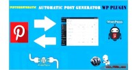 Automatic pinterestomatic post generator & auto pinterest poster wo for plugin