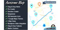 Awesome map wp fully map markers customizable