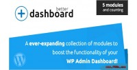 Better dashboard the ultimate enhancer admin wp