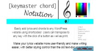 Chord keymaster notation