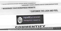 Comments commentify wordpress for notification
