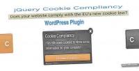 Compliancy cookie for wordpress