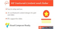 Content featured & plugin wordpress slider