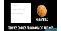 Cookies no for comments