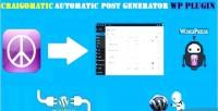 Craigslist craigomatic automatic generator post wordpress for plugin