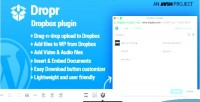 Dropbox dropr wordpress for plugin