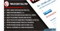 Easy twilio call pro