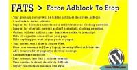 Fats force adblock to plugin wordpress stop