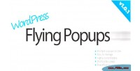 Flying wordpress popups