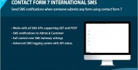 Form contact sms international 7
