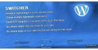 Frontend switcher theme wordpress for customizer