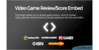 Game video embed score review