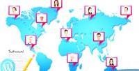 Google responsive mapped testimonials