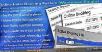 Online hotel booking system plugin wordpress