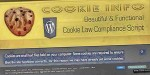 Cookie info wp cookie script compliance law