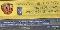 Cookie info wp cookie script compliance law