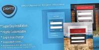 Login wordpress theme