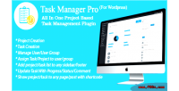Manager task pro all in one based project task management plugin wordrpress for