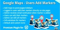 Maps google markers add users