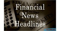 News financial wordpress for headlines