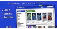 Online publishbox library platform