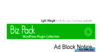 Pack biz notice block ad