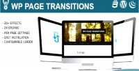 Page wp transitions