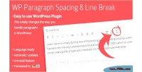 Paragraph wordpress spacing plugin break line