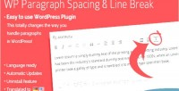 Paragraph wordpress spacing plugin break line