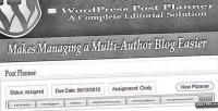 Post wordpress planner