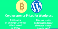 Prices cryptocurrency for wordpress