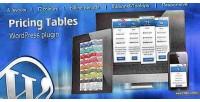 Pricing wordpress tables plugin