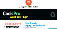 Pro cook recipe plugin wordpress listing