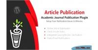 Publication article wordpress plugin