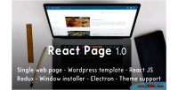 React reactpage js kit starer bootstrap