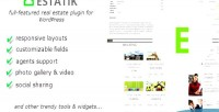 Real wordpress estatik plugin estate