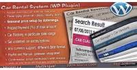 Rental car system plugin wordpress