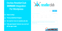 Resellerclub oscitas domain kit integration registration