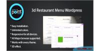 Restaurant 3d menu wordpress